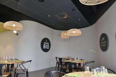 Restaurant bio- La Gambille - Biocoop - isolation acoustique -Langueux (22)
