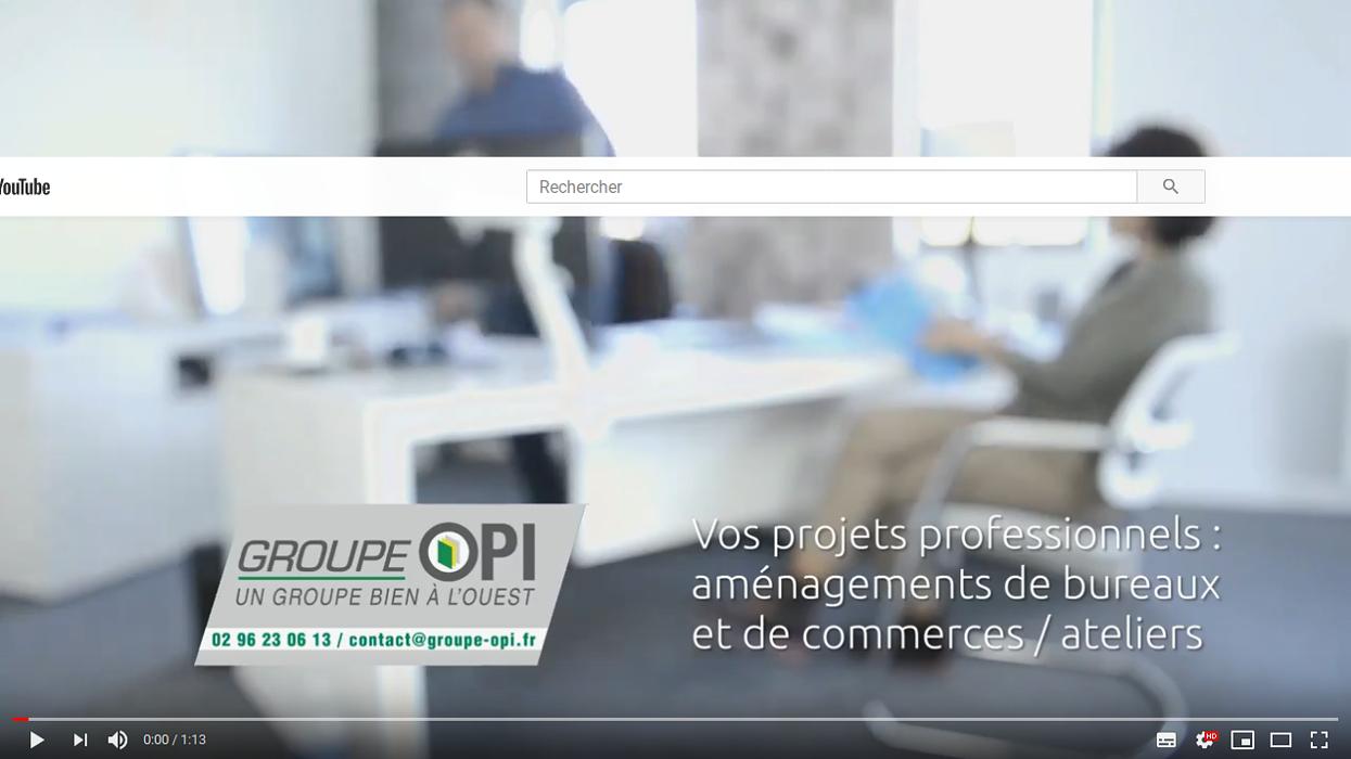Aménagement de bureaux, commerces et ateliers : notre métier en vidéo 0