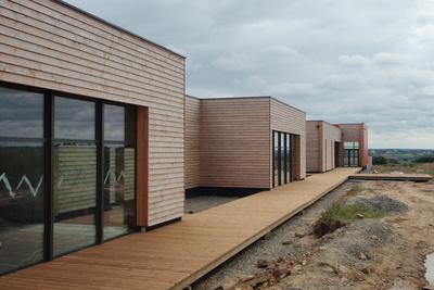 Construction neuve : cloisons et plafonds - Ecole maternelle - Plouguiel