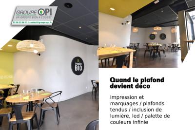 Décorez votre intérieur avec un plafond tendu - Groupe OPI