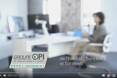 Le Groupe OPI : rénovation thermique - en vidéo