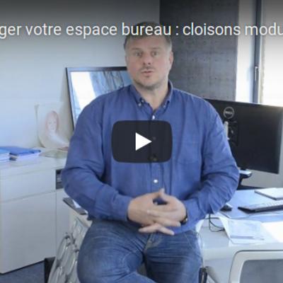 Groupe Opi en vidéo : aménager votre espace bureau : cloisons modulaires, plafonds, menuiseries intérieures