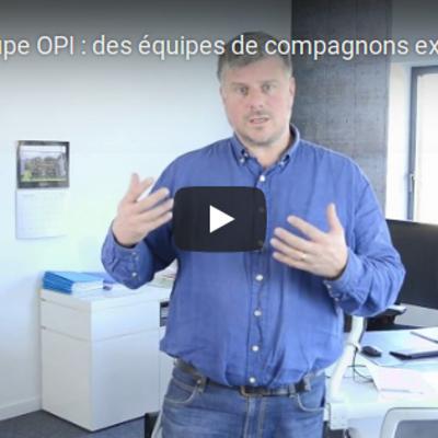 Groupe OPI en vidéo : un seul interlocuteur pour 4 corps de métiers