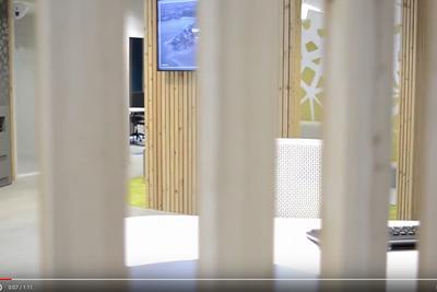 Reportage vidéo : rénovation agence du Crédit Agricole - Yffiniac