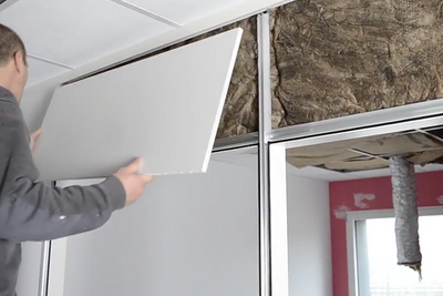 Vidéo : Isolation des cloisons intérieures - bureaux neufs