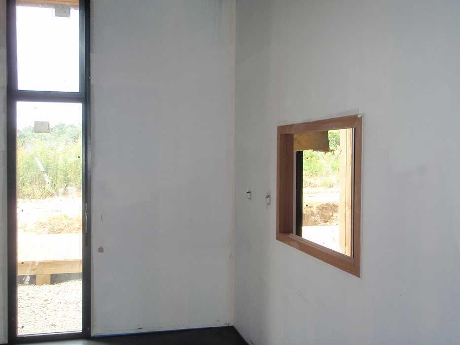 Construction neuve : cloisons et plafonds - Ecole maternelle - Plouguiel p1010095