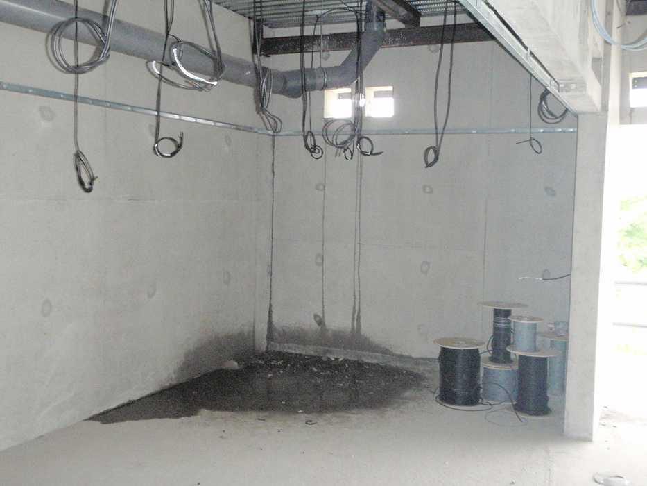 Construction neuve : cloisons et plafonds - Ecole maternelle - Plouguiel p6110021