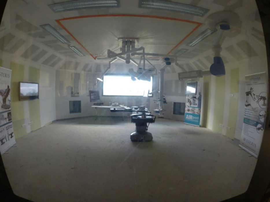 Pôle Armoricain de Santé : isolation, cloisons et plafonds- ville- Plérin bloc-temoin-1-630x0