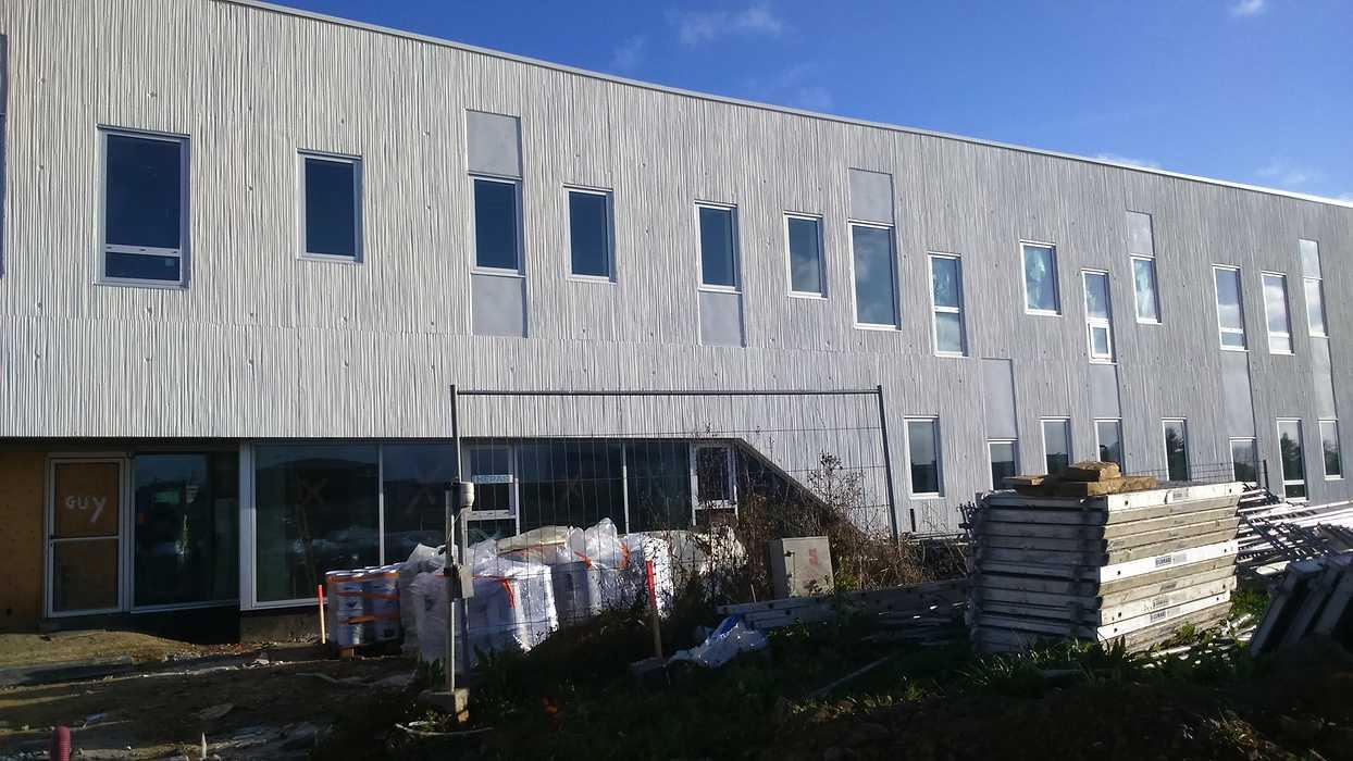 Pôle Armoricain de Santé : isolation, cloisons et plafonds- ville- Plérin dsc0097
