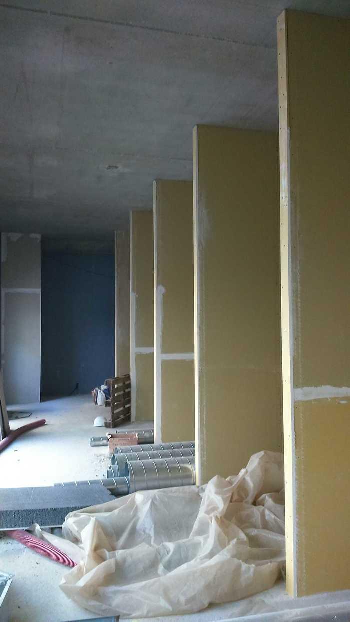 Pôle Armoricain de Santé : isolation, cloisons et plafonds- ville- Plérin dsc0100