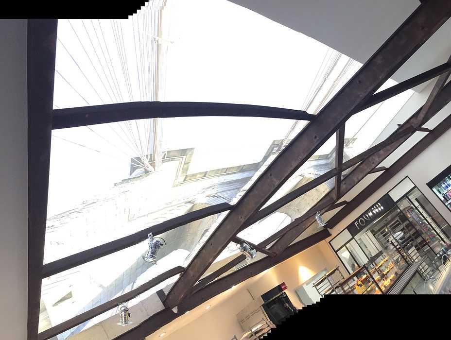Tartapain Plérin: réalisation des plafonds tendus et cloisons img1090