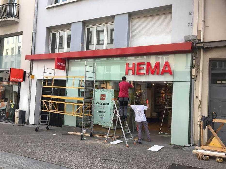 Travaux de plâtrerie, reprise doublage, doublage et création local coupe feu hema3