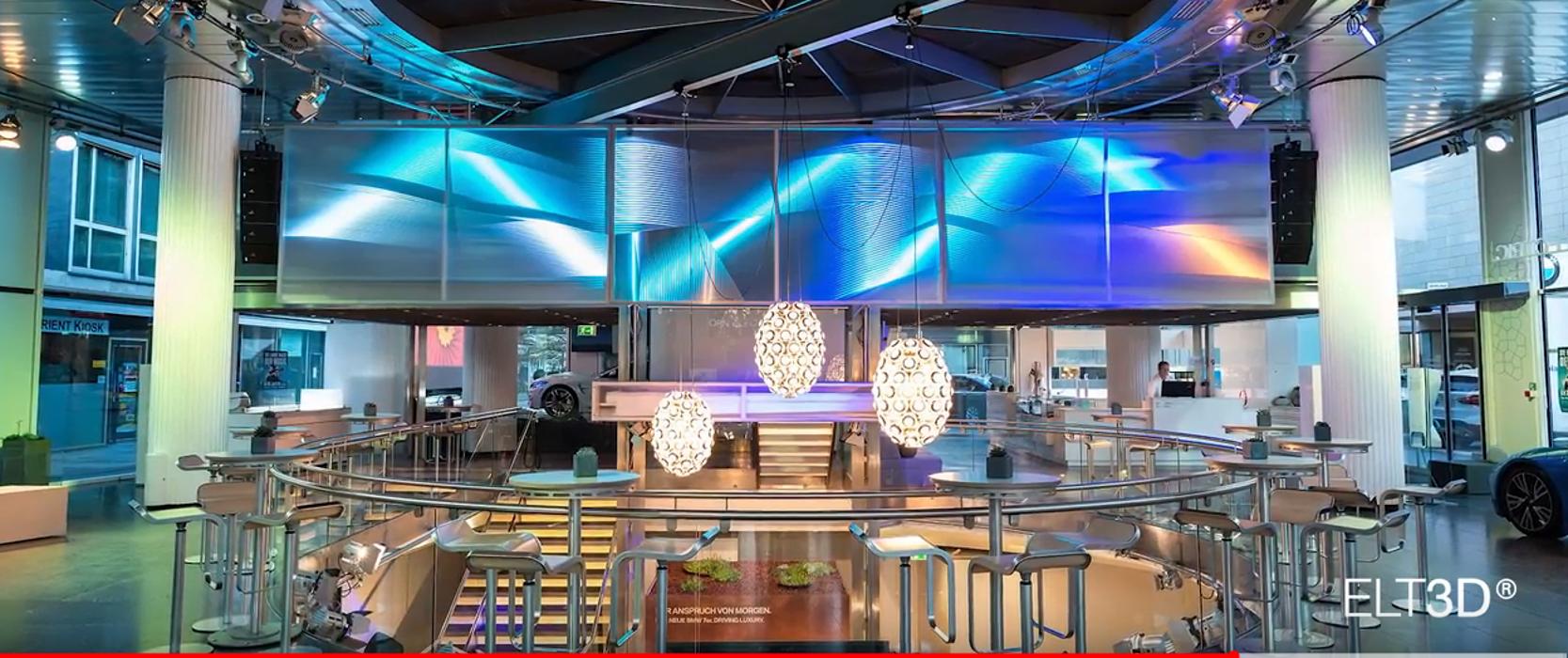 Plafond tendu lumineux et effet 3D 0