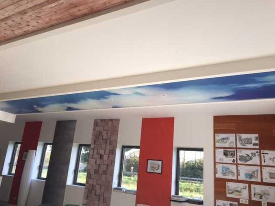 Plafonds tendus : au plafond et sur les murs img5865