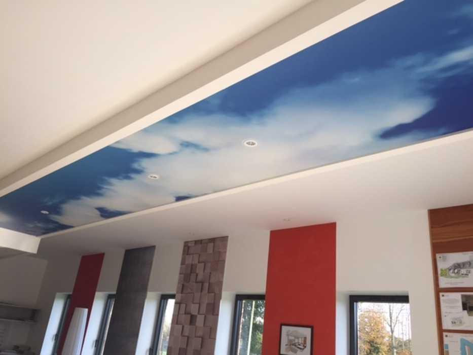 Plafonds tendus : au plafond et sur les murs 0