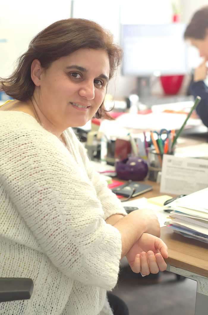 Stéphanie Pinart, service administratif 0