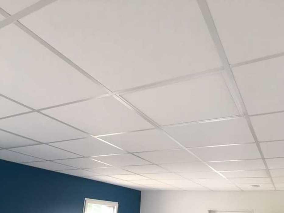 Cloisons de distribution et cloisons modulaires, plafonds suspendus et menuiseries intérieures img3407