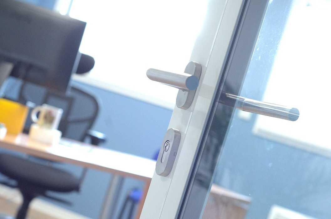 Cloisons / doublage / plafonds / menuiseries : ateliers et bureaux - Cavan (22) dsc1576
