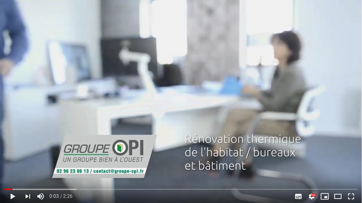 Le Groupe OPI : rénovation thermique - en vidéo 0
