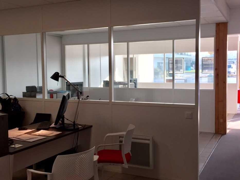 Cloisons vitrées : organiser vos espaces / optimiser la luminosité vitrees2