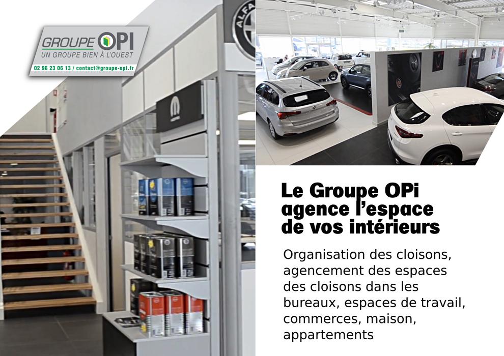 Organisez vos espaces de travail avec le Groupe OPI 0