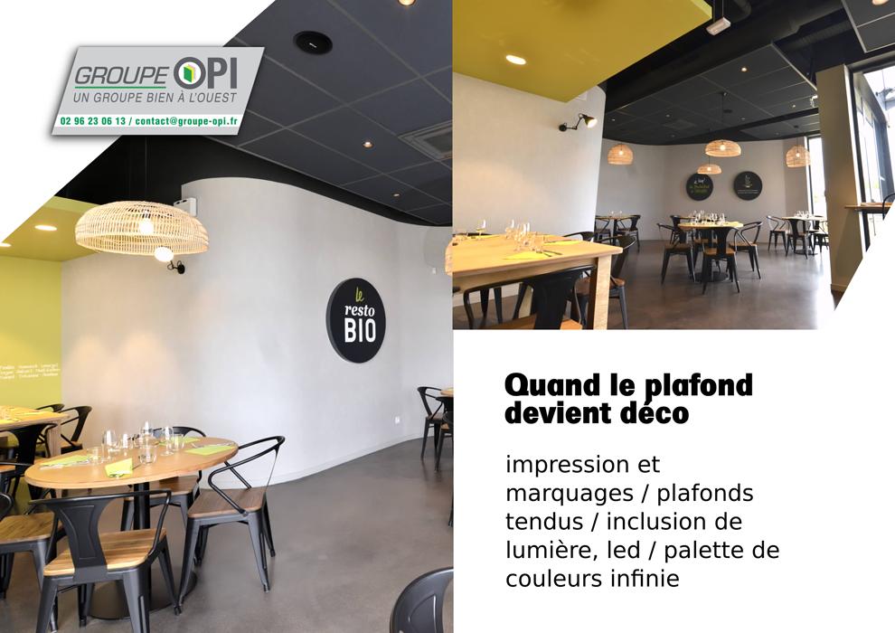 Décorez votre intérieur avec un plafond tendu - Groupe OPI 0